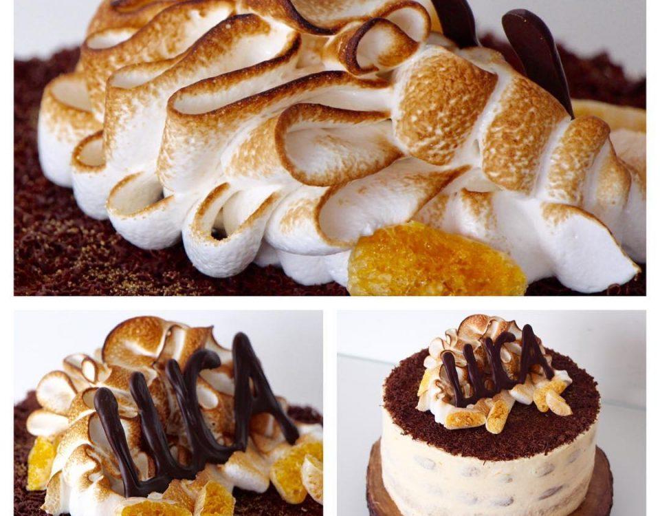 tiramisu cake swiss meringue